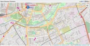 4 Harta Hotel Timisoara